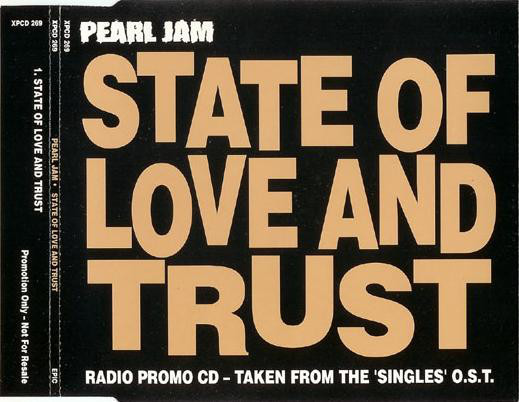 Pearl Jam - State of love and trust (Cover)