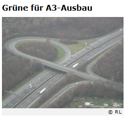 Screenshot: Anschlussstelle Opladen