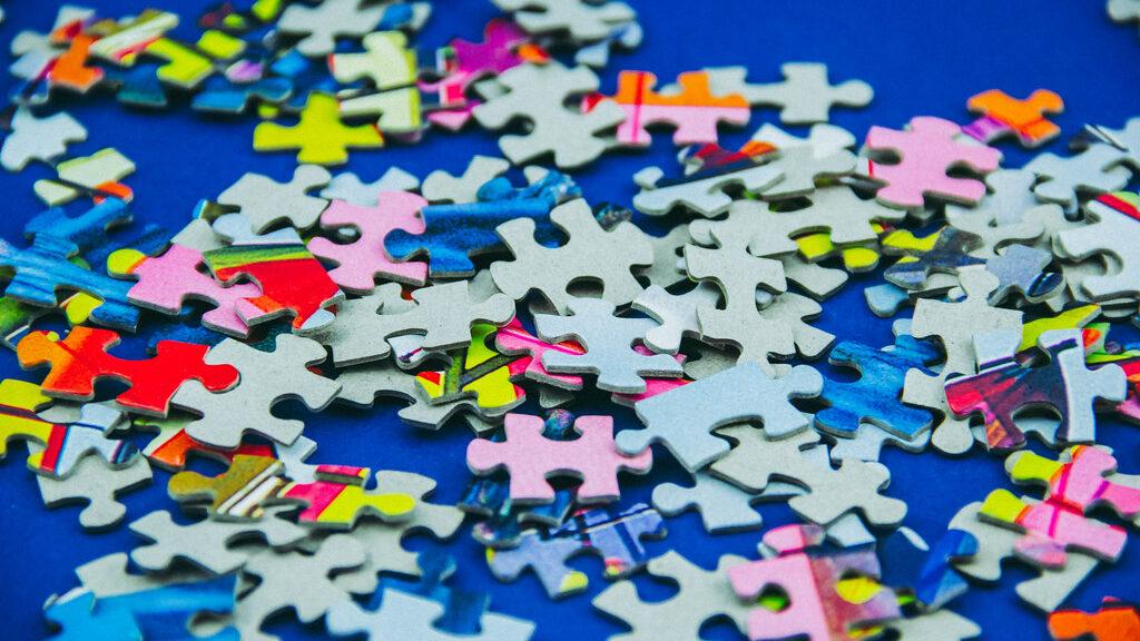 Puzzle in Unordnung