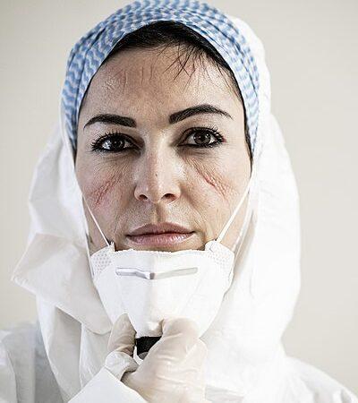 Francesca Palumbo, italienische Intensivpflegefrachkraft