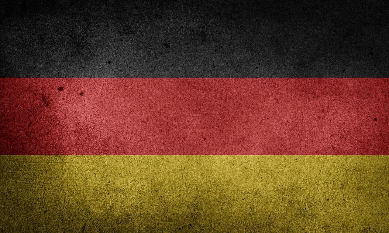 Deutschlandfahne, dreckig